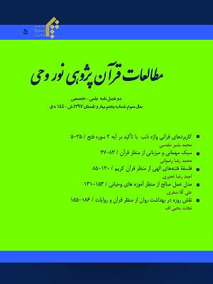 مطالعات قرآن پژوهی نور وحی